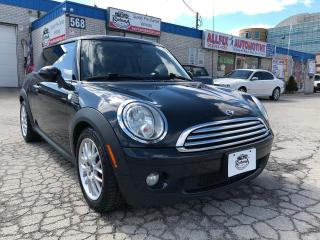Used 2009 MINI Cooper ACCIDENT FREE/LEATHER/SUNROOF/MANUAL for sale in Oakville, ON