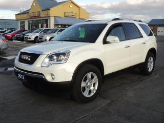 Used 2012 GMC Acadia SLE2 3.6L DualMoonRoof RemoteStart 7Pass for sale in Brantford, ON