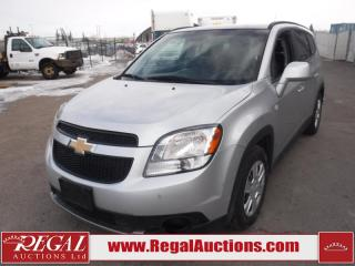 Used 2012 Chevrolet Orlando LT 4D Wagon 7PASS 2.4L for sale in Calgary, AB