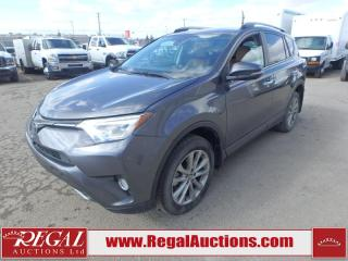 Used 2017 Toyota RAV4 Limited 4D Utility AWD 2.5L for sale in Calgary, AB