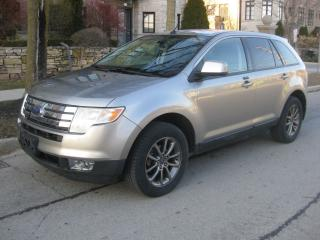 Used 2008 Ford Edge SEL, CERTIFIED, NO ACCIDENTS, WELL MAINTAINED for sale in Toronto, ON