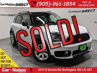Used 2019 MINI Cooper Countryman Cooper| AWD| DUAL SUNROOF| LEATHER| for sale in Burlington, ON