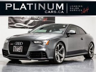 Used 2013 Audi RS 5 4.2 QUATTRO, NAVI, BANG&OLUFSEN, CAM, ROOF for sale in Toronto, ON