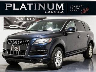 Used 2012 Audi Q7 3.0T QUATTRO, 7 PASSENGER, CAM, Heated Lthr for sale in Toronto, ON