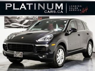 Used 2015 Porsche Cayenne Diesel Premium PLUS, NAVI, PANO, RED LTHR, Lane CH for sale in Toronto, ON