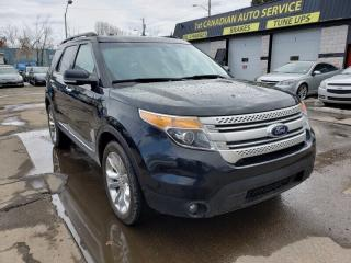 Used 2014 Ford Explorer XLT-AWD-NAVI-LEATHER-PAN ROOF-LOW Monthly Payments for sale in Edmonton, AB