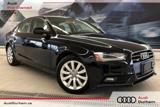 Used 2014 Audi A4 2.0 Komfort + Sunroof | Power Seat | AWD for sale in Whitby, ON