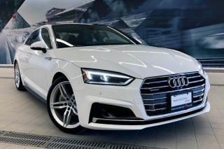 Used 2018 Audi A5 2.0T Technik + S-Line | Driver Assist | 360 Cam for sale in Whitby, ON