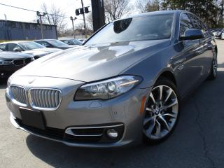 Used 2014 BMW 5 Series 535D XDRIVE~ONE OWNER~91KMS~DIESEL~SUNROOF for sale in Burlington, ON