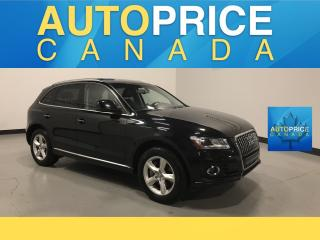Used 2015 Audi Q5 3.0 TDI Progressiv PANOROOF|LEATHER|HEATED SEATS for sale in Mississauga, ON
