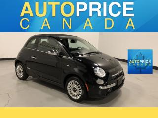 Used 2015 Fiat 500 C Lounge LEATHER|AUTO|CONVERTIBLE for sale in Mississauga, ON