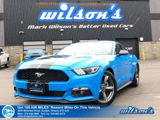 Used 2017 Ford Mustang V6 - Rear Camera, Bluetooth, Push Start/Keyless Entry, Alloys, Power Seat, Cruise Control for sale in Guelph, ON