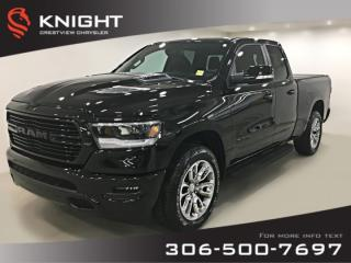 Used 2019 RAM 1500 Sport Quad Cab | Heated Seats and Steering Wheel for sale in Regina, SK