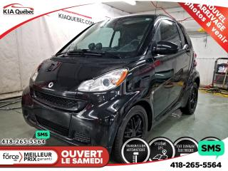 Used 2012 Smart fortwo Passion Gps Toit for sale in Québec, QC