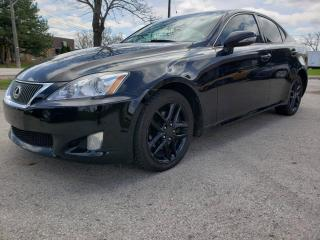 Used 2009 Lexus IS 250 4DR SDN AUTO AWD for sale in Burlington, ON
