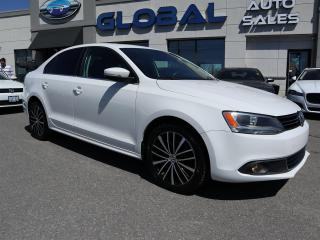 Used 2013 Volkswagen Jetta TDI COMFORTLINE LEATHER SUNROOF HEATED SEATS. for sale in Ottawa, ON