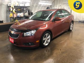 Used 2012 Chevrolet Cruze LTZ * Turbo * Sunroof * Leather interior * On star * Pioneer sound system * Push button ignition * Remote start * Heated front seats *  Hands free ste for sale in Cambridge, ON