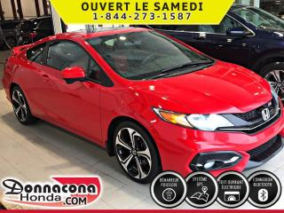 Used 2015 Honda Civic Si ***NAVIGATION***AILERON*** for sale in Donnacona, QC
