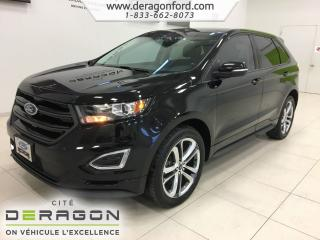 Used 2016 Ford Edge Sport Awd Toit Nav for sale in Cowansville, QC
