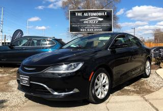 Used 2015 Chrysler 200 C NAVI BACK-UP CAM PANO ROOF LEATHER for sale in Mississauga, ON