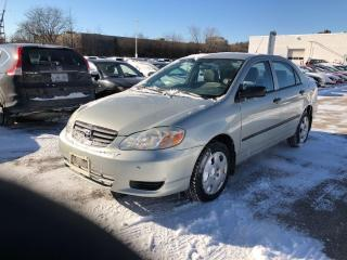 Used 2003 Toyota Corolla CE for sale in Oakville, ON