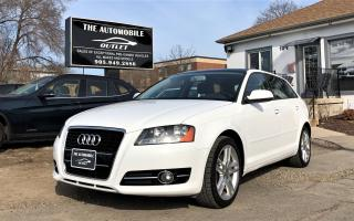 Used 2011 Audi A3 2.0T MANUAL PANO SUNROOF LEATHER NO ACCIDENT for sale in Mississauga, ON