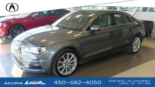Used 2015 Audi A3 2.0t Technik Quattro for sale in Laval, QC