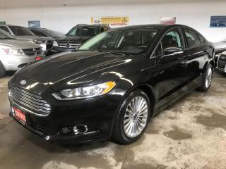 Used 2015 Ford Fusion Titanium AWD SE Navi 41K for sale in North York, ON
