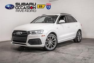 Used 2016 Audi Q3 TECHNIK QUATTRO S for sale in Boisbriand, QC