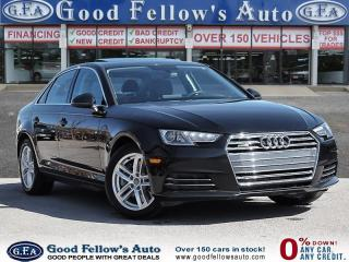 Used 2017 Audi A4 2.0 L QUATRO, LEATHER SEATS, SUNROOF, HEATED SEATS for sale in Toronto, ON