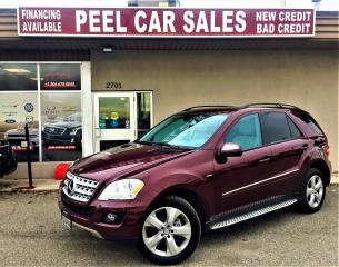 Used 2009 Mercedes-Benz ML-Class 3.0L BlueTEC|NAVI|PANOROOF| for sale in Mississauga, ON