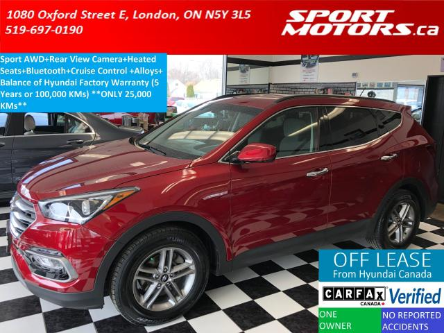 2018 Hyundai Santa Fe Sport AWD+Camera+Bluetooth+Heated Seats+Cruise