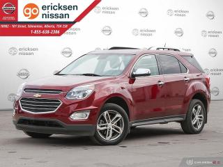 Used 2017 Chevrolet Equinox Premier: AWD, FULLY LOADED WITH BLIND SPOT SENSOR, LEATHER, ROOF for sale in Edmonton, AB
