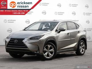 Used 2016 Lexus NX 200t NX 200T: AWD, LUXURY PACKAGE, NAVIGATION, SUNROOF, BACKUP CAMERA, LEATHER, HEATED SEATS for sale in Edmonton, AB