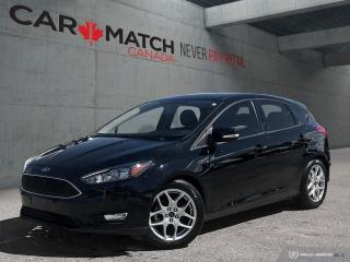 Used 2016 Ford Focus SE / *AUTO* / ALLOY'S for sale in Cambridge, ON