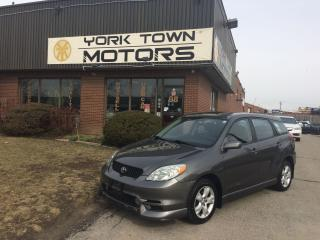 Used 2004 Toyota Matrix XR for sale in North York, ON