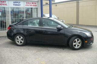 Used 2013 Chevrolet Cruze LT Turbo LEATHER,ALLOYS for sale in Toronto, ON