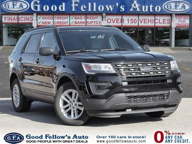 2016 Ford Explorer 7 PASSENGER, REARVIEW CAMERA, POWER SEATS, 4WD