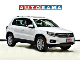 Used 2015 Volkswagen Tiguan HIGHLINE 2.0 TSI 4MOTION NAVI PANO SUNROOF LEATHER for sale in Toronto, ON