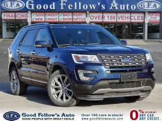 Used 2017 Ford Explorer LIMITED MODEL, 6 PASSENGER, LEATHER SEATS, PANROOF for sale in Toronto, ON