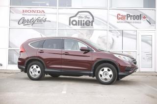 Used 2015 Honda CR-V SE AWD ***GARANTIE 10 ANS/200 000 KM*** for sale in Québec, QC