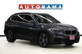 Used 2016 BMW X1 28i M SPORT PKG NAVIGATION LEATHER SUNROOF AWD for sale in Toronto, ON