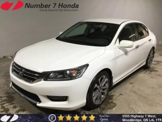 Used 2014 Honda Accord Sport| Backup Cam| Bluetooth| 6-Speed Manual| for sale in Woodbridge, ON