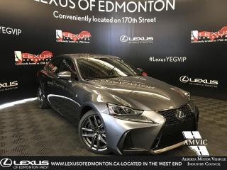 New 2019 Lexus IS 350 F Sport Series 3 for sale in Edmonton, AB
