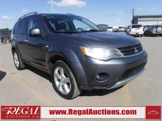 Used 2007 Mitsubishi Outlander 4D Utility 4WD for sale in Calgary, AB