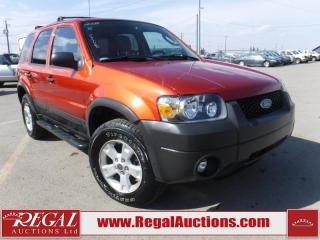 Used 2007 Ford Escape XLT 4D Utility for sale in Calgary, AB