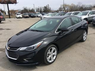 Used 2017 Chevrolet Cruze Premier * Leather * Heated Seats * Backup Camera * Touchscreen * for sale in London, ON