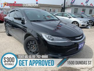 Used 2016 Chrysler 200 LX | CAR LOANS APPROVED for sale in London, ON