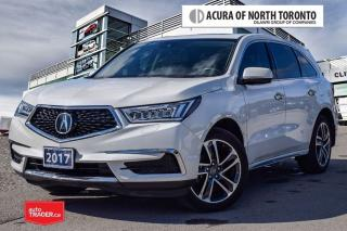 Used 2017 Acura MDX Navi No Accident| Remote Start| Bluetooth for sale in Thornhill, ON