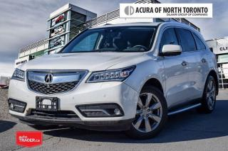 Used 2016 Acura MDX Elite No Accident| Running Board| Remote Start for sale in Thornhill, ON